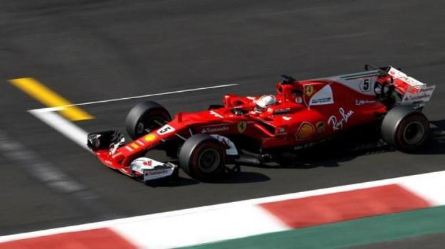 Ferrari, Gp Messico, Sebastian Vettel, Sicilia, Sport