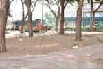Sporcizia e vandalismo nella villa Quasimodo a Messina