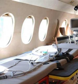 Volo dell'Aeronautica per le emergenze sanitarie