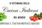 """Al via seconda """"Settimana della cucina italiana nel mondo"""""""