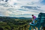 Vino: mappe panoramiche strade Nizza docg Moscato Brachetto
