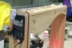 L'arpa 2.0, le corde sono raggi laser