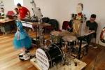 Maker Faire,si esibisce la band robotica