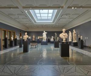 Nuovo look Villa Getty con arte Palmira