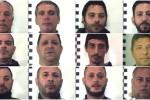 Mafia ed estorsione al Borgo Vecchio, nomi e volti dei 17 arrestati - Foto