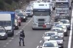 Scontro mortale allo svincolo di Villabate, traffico rallentato: le immagini