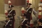 Festa delle forze armate, applausi per la fanfara dei carabinieri in centro a Palermo