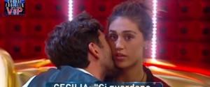 """Il Grande Fratello Vip """"bacchetta"""" Cecilia e Ignazio per le scene hot e i due si """"separano"""""""