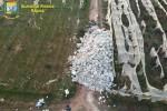 Sequestrata una discarica abusiva con 20 tonnellate di rifiuti speciali ad Acate