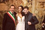 Juliana Moreira ed Edoardo Stoppa si sono sposati: matrimonio lampo a Milano