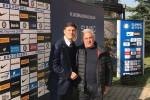 Javier Zanetti con Pippo Leone