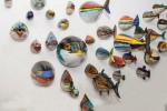 """L'arte omaggia il mondo marino: a Palermo i pesci """"mozzati"""" di Nicolò Morales"""