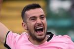 Il Palermo ritrova Nestorovski, pronto per la Salernitana