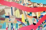 Il coloratissimo «Sisma», l'opera di Gambino sul terremoto di Amatrice