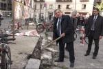 Nuovo asfalto in piazza Borsa a Palermo, al via i lavori - Video
