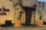 Incendiato un pub ad Avola, non si esclude la matrice dolosa