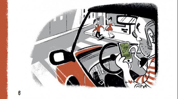 smartphone incidenti stradali, Sicilia, Società