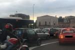 Code chilometriche lungo la circonvallazione a Catania: le foto