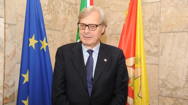 Assessore Sgarbi, m5s, Mozione M5s Sgarbi, Sicilia, Politica
