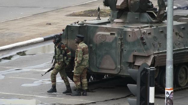 colpo di stato, zimbabwe, Sicilia, Mondo