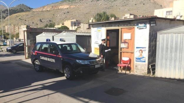 autorimessa abusiva borgo nuovo, Palermo, Cronaca