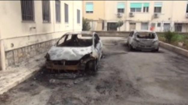 Auto bruciate borgo Nuovo, Palermo, Cronaca