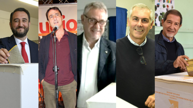 candidati al voto, regionali sicilia 2017, Claudio Fava, Fabrizio Micari, Giancarlo Cancelleri, Nello Musumeci, Roberto La Rosa, Sicilia, Politica