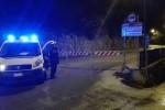 Carini, masso finisce per strada: chiuso tratto di via Palermo