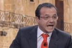 Cateno De Luca ospite su La7 urla e Giletti gli chiude il microfono - Video