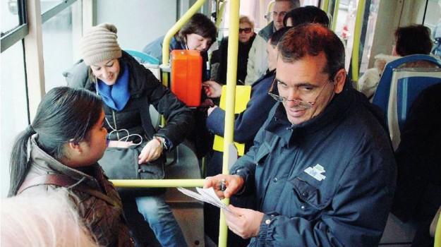 trasporto pubblico palermo, vigilanza su bus amat, Palermo, Cronaca