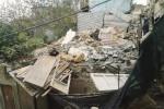 Crollo nel centro storico di Aragona: si sbriciola un edificio