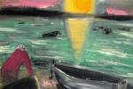 Il volto inedito di Kerouac pittore