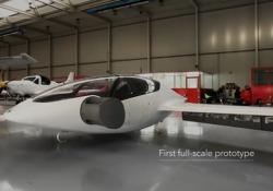 Decolla Lilium Jet, la prima volta nei cieli di un'auto volante