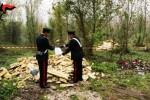 Tonnellate di rifiuti in terreni agricoli, sequestrata discarica abusiva a Comiso