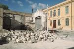 Crolla un edificio comunale a Paceco: paura ma nessun ferito