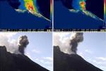 Ancora delle esplosioni rilevate sullo Stromboli