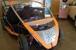 Enea presenta city car Urb-e 4.0 ibrida elettrica-idrogeno