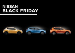 Black Friday Nissan super-offerte su Juke, Quasqai e X-Trail