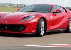 Ferrari 812 Superfast: la prova in pista