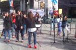 #Ognigiorno25, a Palermo il flash mob per dire no alla violenza sulle donne - Video