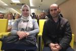 Amina e Athmané, i genitori delle gemelline siamesi operate all'ospedale Bambino Gesù di Roma