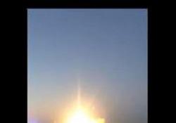 Il lancio di Paolo Nespoli dal Kazakistan verso lo spazio come pochi lo hanno visto
