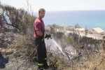 Incendi estivi in calo del 30% nell'Agrigentino