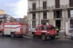 Palermo, incendio in un appartamento: palazzo evacuato