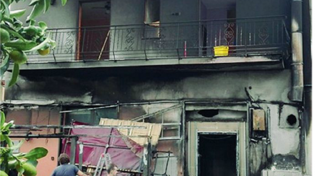 incendiata pizzeria, san filippo del mela, Messina, Cronaca
