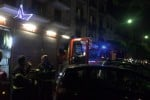 Incendio in casa vicino al teatro Massimo a Palermo, salvate due anziane - Video