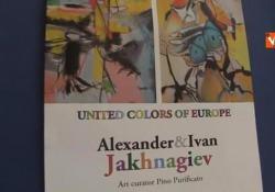 Jakhnagiev, l'inaugurazione della mostra al Parlamento Europeo