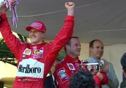 La Ferrari F2001 di Schumacher all'asta tra le opere d'arte di Sotheby