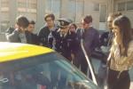 Studenti a lezione di guida sicura a Trapani