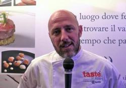 Lo chef Daniele Usai e i piatti sulle note di Ray Charles a Taste of Roma